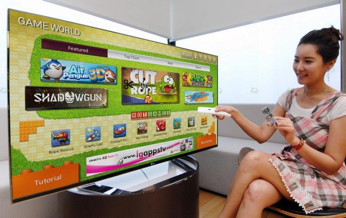 Игровой сервис Game World для Smart-ТВ LG Cinema 3D