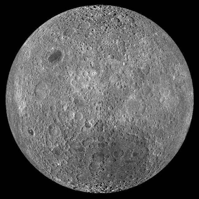 Опубликованы стерео 3D-фото поверхности Луны