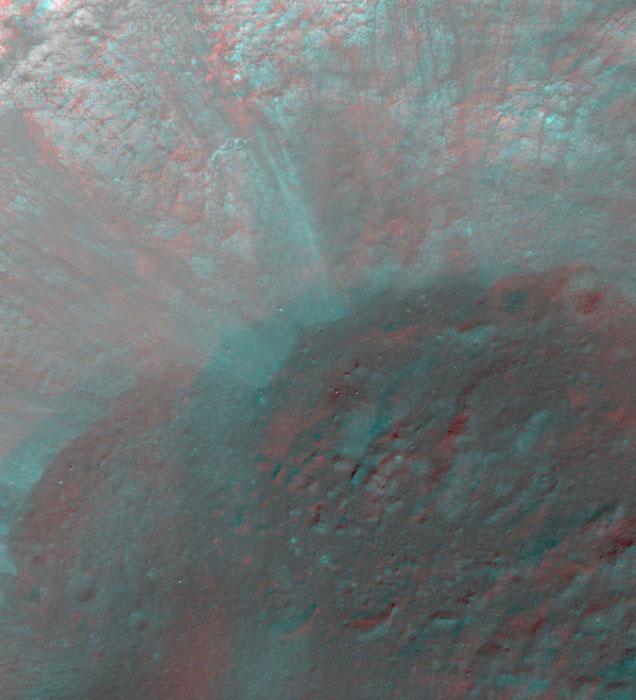 Лунный кратер Жансен - Janssen K Crater