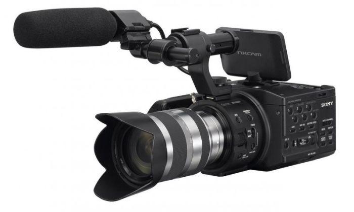 Sony NEX-FS100EK на выставке Photokina 2012
