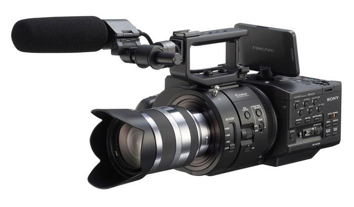 Sony NEX-FS700EK на выставке Photokina 2012