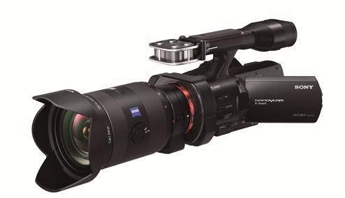 Sony NEX-VG900E на выставке Photokina 2012