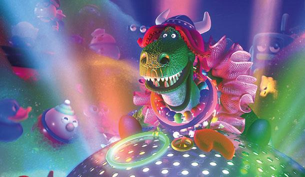 Премьера 3D-мультика «Веселозавр Рекс» запланирована на 13 сентября 2012 года