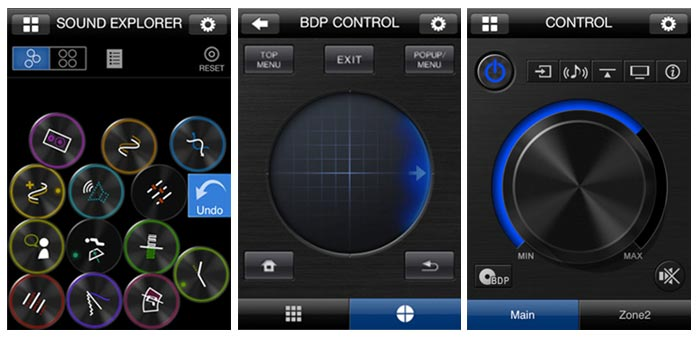Приложение iControlAV2012 для Blu-ray 3D-плеера BDP-62FD от Pioneer
