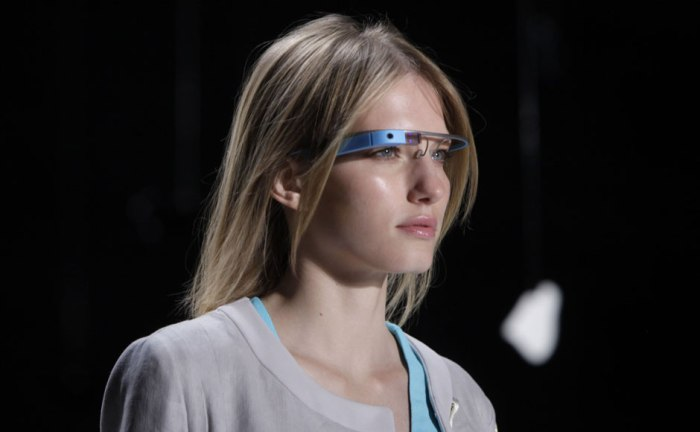 Project Glass от Google на показе Дианы фон Фюрстенберг (Diane von Furstenberg)