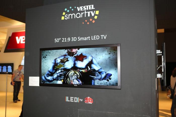 Vestel 3D Smart LED TV с поддержкой стерео 3D