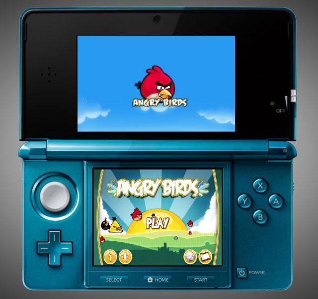 Angry Birds 3D – теперь для Nintendo 3DS