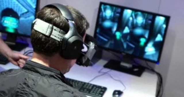 комплект разработчика шлема виртуальной реальности Oculus Rift