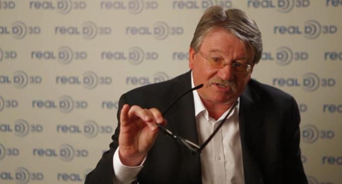 Глава подразделения потребительской электроники RealD Роберт Мейсон (Robert Mason)