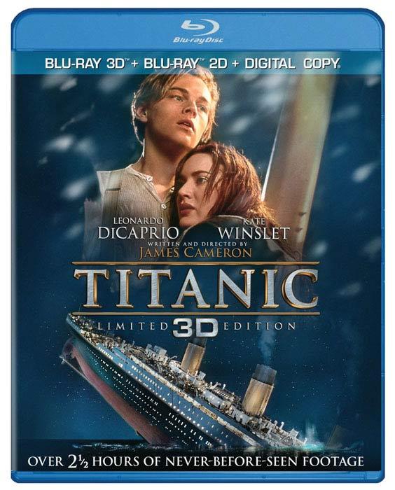 «Титаник» на дисках Blu-ray 3D