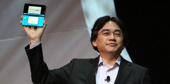 Nintendo 3DS в помощь покупателю Сатору Ивата СЕО Nintendo