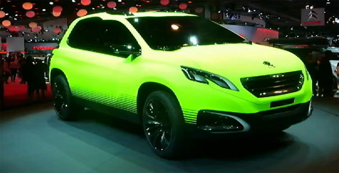 Парижский автосалон 2012 (Mondial de l'Automobile) на YouTube 3D