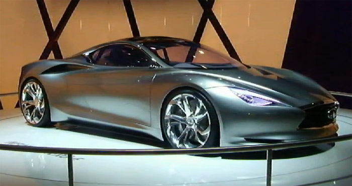 Шоу-выставка Парижский автосалон (Mondial de l'Automobile) на YouTube 3D