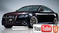 Рекламный YouTube 3D-ролик о тюнинге ABT AUDI S5
