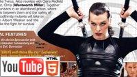 YouTube 3D-трейлер к фильму «Обитель зла. Жизнь после смерти 3D»