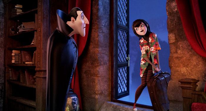 Кадры из мультфильма «Монстры на каникулах» (Hotel Transylvania)