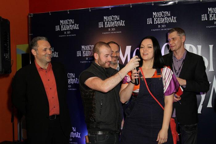 Российская премьера 3D-мульта «Монстры на каникулах» (Hotel Transylvania)
