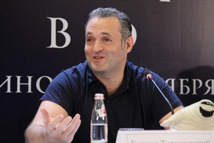 Пресс-конференция посвященная мультфильму «Монстры на каникулах» (Hotel Transylvania)