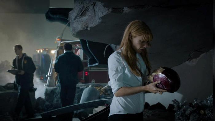 Гвинет Пэлтроу (Gwyneth Paltrow) в 3D-фильме «Железный человек 3» (Iron Man 3)