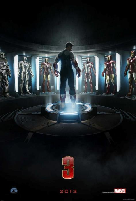 Первый дублированный трейлер к 3D-фильму «Железный человек 3» (Iron Man 3)
