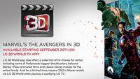 LG Cinema 3D: ещё больше 3D-контента от Walt Disney!