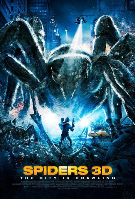 постер к 3d фильму Пауки 3D