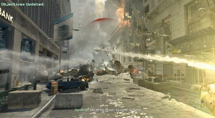 Гипер-стерео скриншоты к 3D-игре Call of Duty: Modern Warfare 3 на YouTube 3D