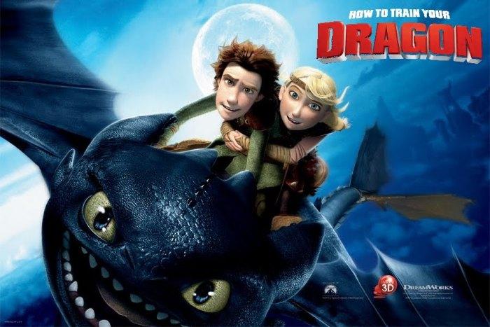 Стерео 3D-мультфильмы 2013 года: «Как приручить дракона 2»
