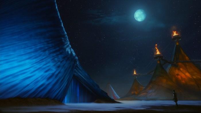 «Цирк Солнца покоряет мир» (Cirque du Soleil: Worlds Away): материалы к 3D-ленте