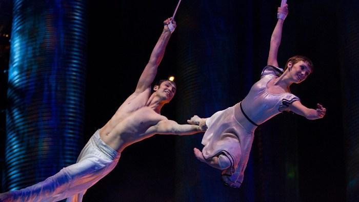 3D-фильм «Цирк Солнца покоряет мир» (Cirque du Soleil: Worlds Away)