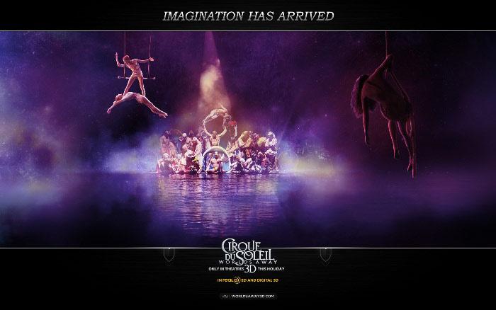 «Цирк Солнца покоряет мир» (Cirque du Soleil: Worlds Away): новые материалы к 3D-ленте