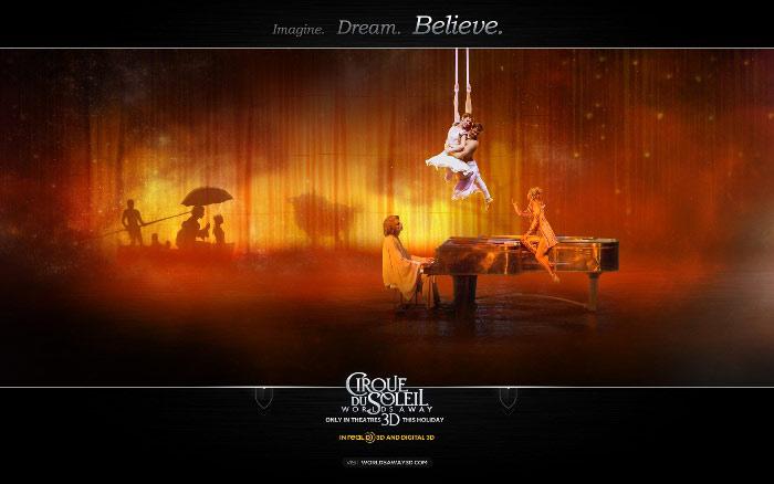«Цирк Солнца покоряет мир» (Cirque du Soleil: Worlds Away)