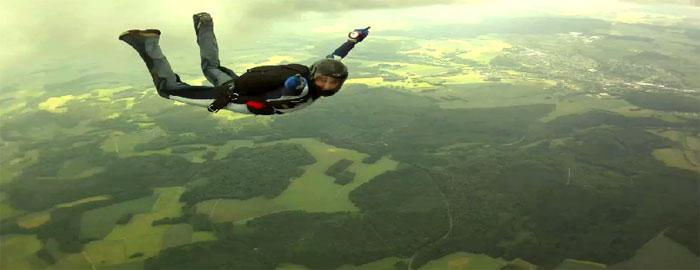 «Прыжки с парашютом» «Fallschirmspringen 3D»: аденалин на YouTube 3D