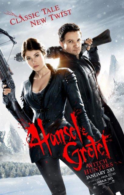 «Охотники на ведьм 3D» (Hansel and Gretel: Witch Hunters 3D): новый трейлер и постер