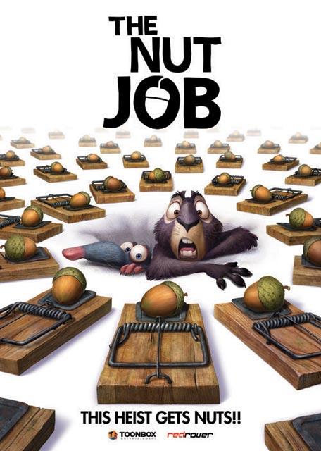 Стерео 3D-мультфильмы 2013 года: «Белка 3D» (The Nut Job 3D)