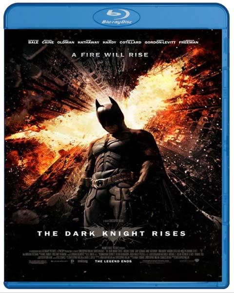 «Темный рыцарь: Возрождение легенды» (The Dark Knight Rises): Blu-ray и DVD-диски