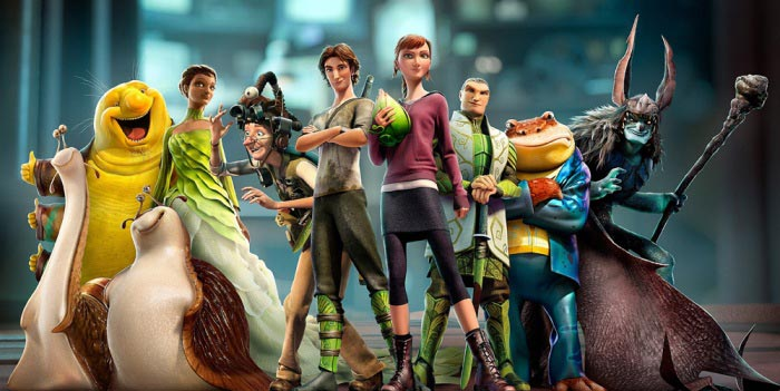 Стерео 3D-мультик «Эпик» (Epic): новый трейлер