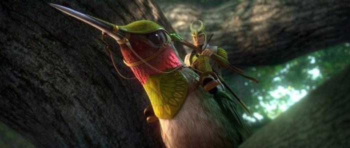 Стерео 3D-мультик «Эпик» (Epic) режиссера Криса Уэджа (Chris Wedge)
