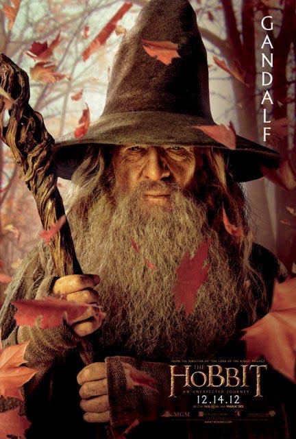 3D-лента «Хоббит: Нежданное путешествие» (The Hobbit: An Unexpected Journey 3D): Гэндальф (Gandalf)