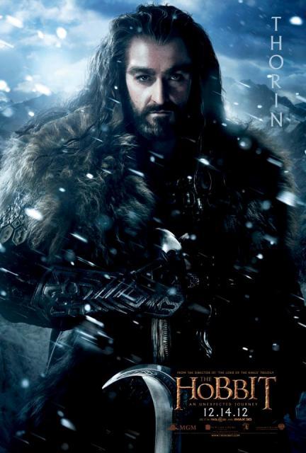 3D-фильм «Хоббит: Нежданное путешествие» (The Hobbit: An Unexpected Journey 3D): Торин Дубощит (Thorin Oakenshield)