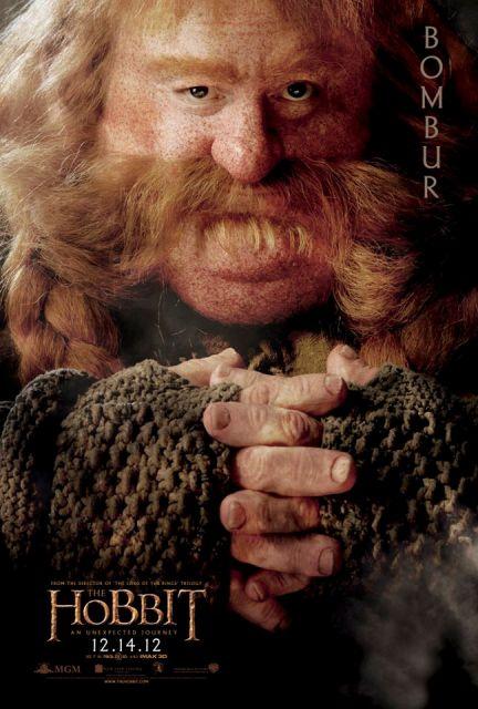 3D-лента «Хоббит: Нежданное путешествие» (The Hobbit: An Unexpected Journey 3D): Бомбур (Bombur)