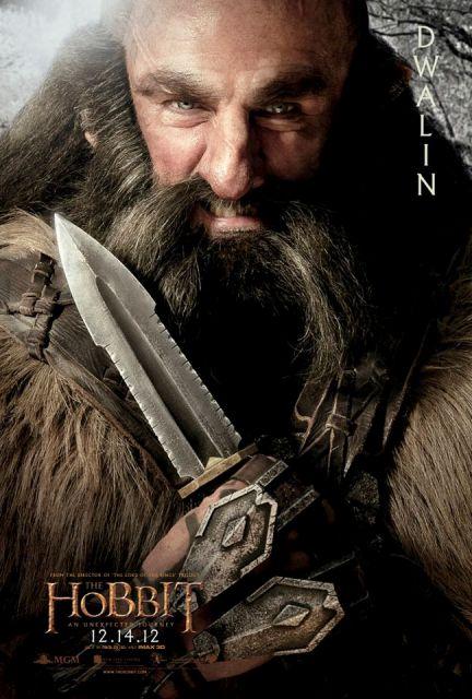 3D-фильм «Хоббит: Нежданное путешествие» (The Hobbit: An Unexpected Journey 3D): Двалин (Dwalin)