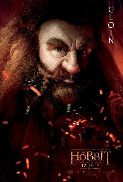 3D-лента «Хоббит: Нежданное путешествие» (The Hobbit: An Unexpected Journey 3D): Глоин (Gloin)