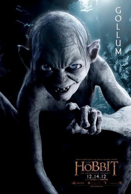 3D-фильм «Хоббит: Нежданное путешествие» (The Hobbit: An Unexpected Journey 3D): Голлум (Gollum)