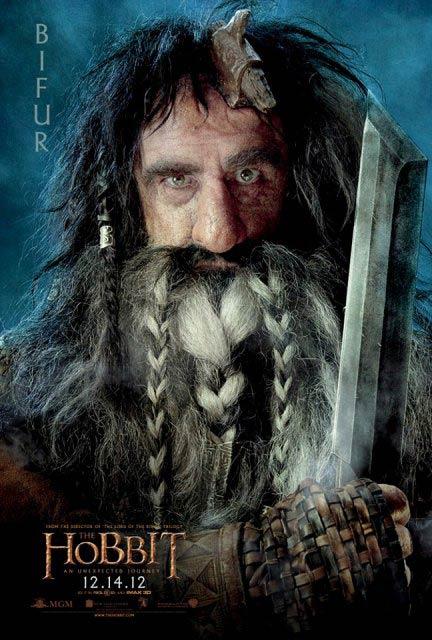 3D-фильм «Хоббит: Нежданное путешествие» (The Hobbit: An Unexpected Journey 3D): Бифур (Bifur)