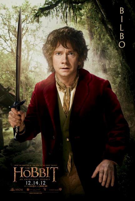 3D-лента «Хоббит: Нежданное путешествие» (The Hobbit: An Unexpected Journey 3D): Бильбо Бэггинс (Bilbo Baggins)