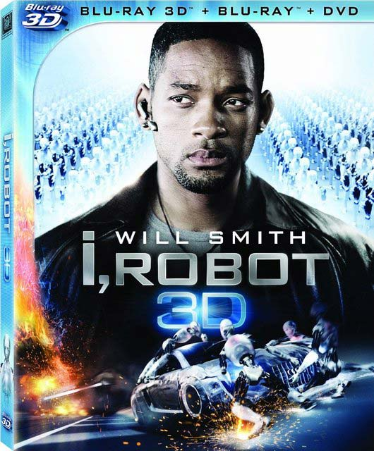 «Я, робот» (I, Robot) на дисках Blu-ray 3D