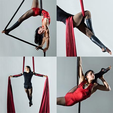 Воздушная гимнастика на YouTube стерео 3D