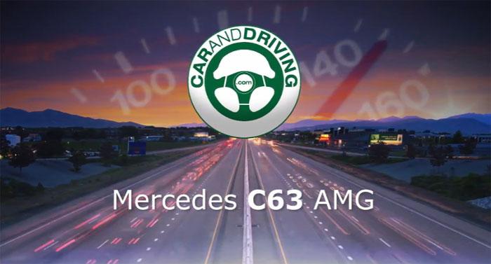 Тест-драйв Mercedes AMG C63 на YouTube 3D