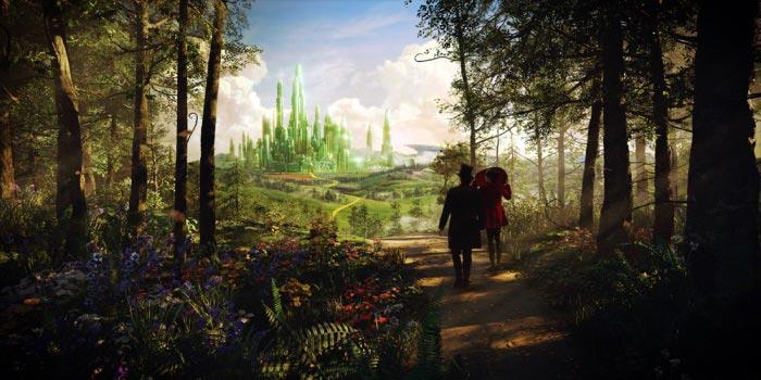 «Оз: Великий и Ужасный» (Oz: The Great and Powerful): кадры к 3D-фильму